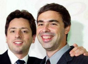 Sergey Brin, dan Larry Page